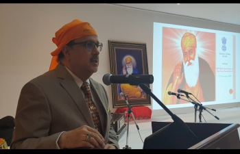 Embassy of India, Riyadh celebrates the 550th Birth Anniversary of Shri Guru Nanak DevJion November 14, 2019
