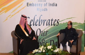 Embassy celebrated the 72nd Republic Day on January 26, 2021