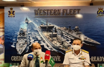 Maiden bilateral naval excercise between India and Saudi Arabia - 'AL-Mohed AL-Hindi' from 09 to 14 Aug 21 reflected common maritime interests of peace, stability & security in the region.