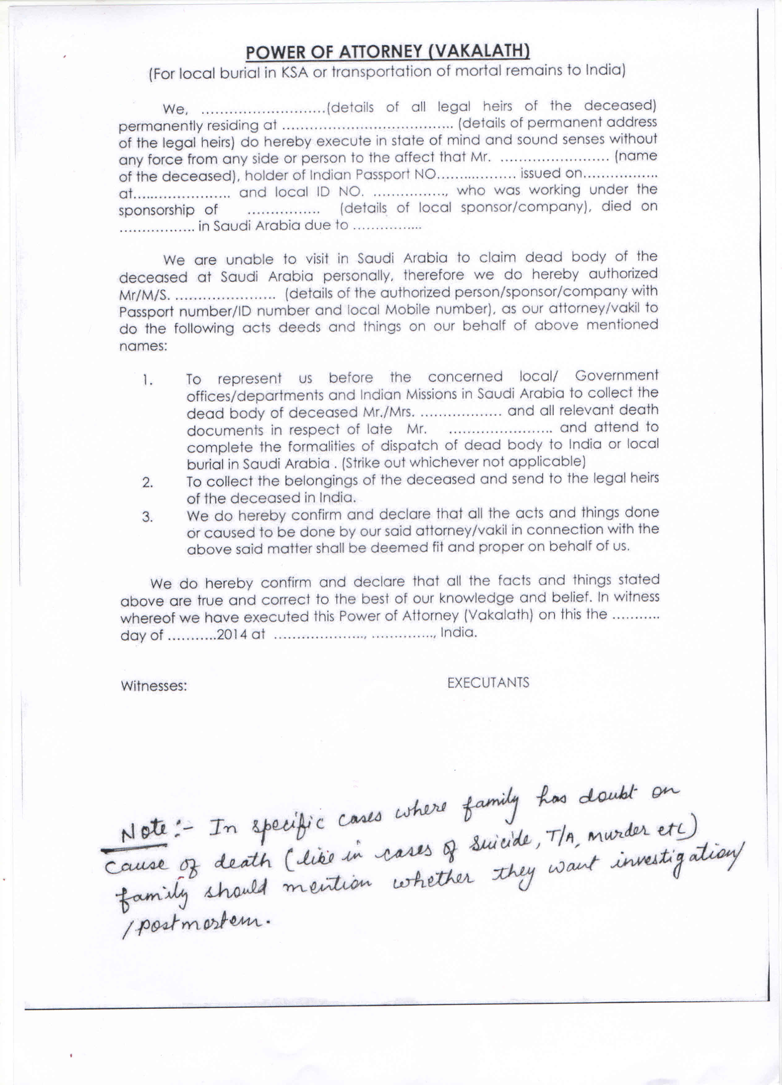 Sample Letter To Close Bank Account Of Deceased from www.eoiriyadh.gov.in